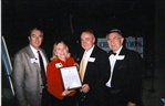 Paul and Susan Smith with David Evans and Bob Besco